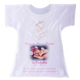 Szatka koszulka aniołek haftowany 32x32cm